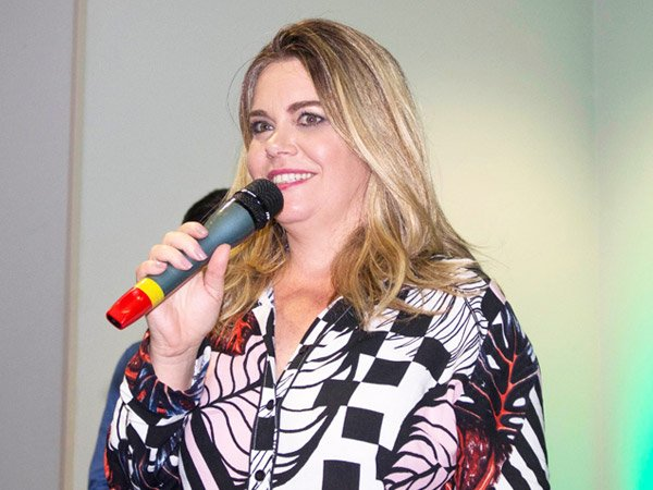 Claudia Mota, do Instituto Passo a Passo, no Encontro Lidera Vislumbre RH 2018
